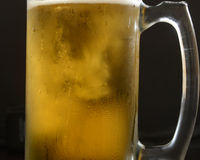 Mug of Beer. Alcholic beverage in a glass Royalty Free Stock Photography