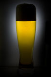 Mug of Beer Back Lit Stock Photography