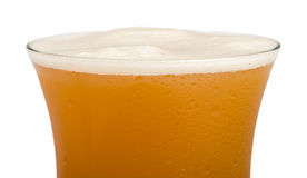 Mug beer close up background Stock Photo
