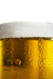 Mug beer close up background Stock Photos