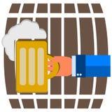 Mug of beer Royalty Free Stock Image