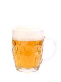 Mug of beer with froth Stock Image