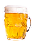 Mug of beer isolated Stock Photos
