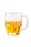 Mug of beer. Isolated on white background Stock Photography