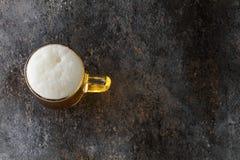 Mug with beer Royalty Free Stock Photography