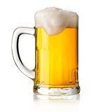 Mug with beer royalty free stock image