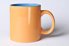 Mug with blank space for logo Royalty Free Stock Images