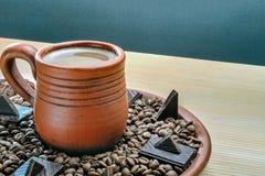 Mug of cocoa royalty free stock photography
