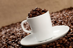 Mug of coffee Stock Photos