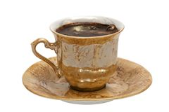 Mug from coffee Royalty Free Stock Images