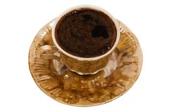 Mug from coffee Royalty Free Stock Photos