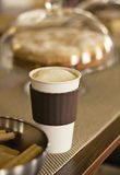 Mug of coffee. On a table with cookies and cakes Stock Photo