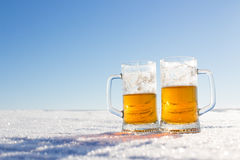 Mug of Cold Beer Stock Images