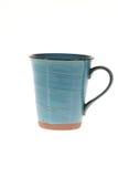 Mug cups on white background. Mug cups isolated on white background Stock Photos