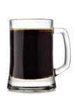 Mug of dark beer Stock Photos