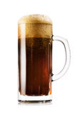 Mug of dark beer Stock Photography