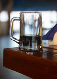 Mug of dark beer Royalty Free Stock Photos