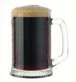 Mug of dark beer Stock Image