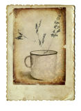 The mug - decoration Stock Images