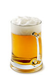 Mug of delightful amber beer Royalty Free Stock Image