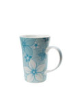 Mug with the drawn colors Royalty Free Stock Photos