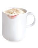 Mug of eggnog Royalty Free Stock Photos