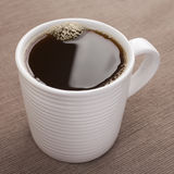 Mug of Espresso Coffee royalty free stock photos