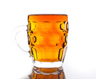 Mug fresh beer Royalty Free Stock Photography