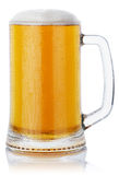 Mug fresh beer Royalty Free Stock Photos