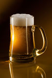 Mug full of beer Stock Photography