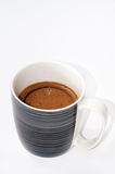 Mug full with black coffee Royalty Free Stock Image