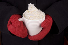 Mug of Hot Chocolate Stock Image