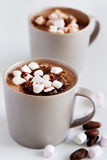 Mug of hot chocolate Stock Photography