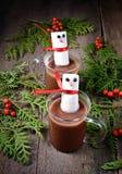 Mug of hot chocolate with marshmallows Royalty Free Stock Photo