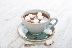 Mug with hot chocolate Royalty Free Stock Photos