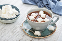 Mug with hot chocolate Stock Photography