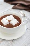 Mug with hot chocolate Stock Photos