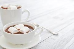 Mug with hot chocolate Stock Image