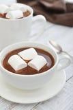 Mug with hot chocolate Royalty Free Stock Photo