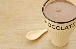 Mug hot chocolate Stock Photography