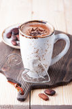 Mug of hot cocoa Stock Photo