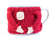 Mug In A Sweater Royalty Free Stock Photos