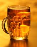 Mug of lager beer  Stock Photo