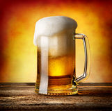 Mug of lager Royalty Free Stock Photos