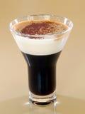 Mug of layered caffe latte Stock Photos