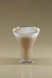 Mug of layered caffe latte Royalty Free Stock Photo