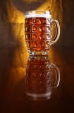 Mug of light beer Royalty Free Stock Photography