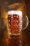 Mug of light beer Royalty Free Stock Photos