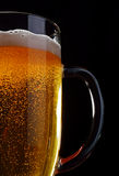 A mug of light beer. Royalty Free Stock Photo