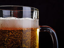 A mug of light beer. Royalty Free Stock Photography